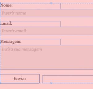 Formulário contato KGL